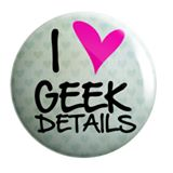 Geek Details home of irreverent and geek goods